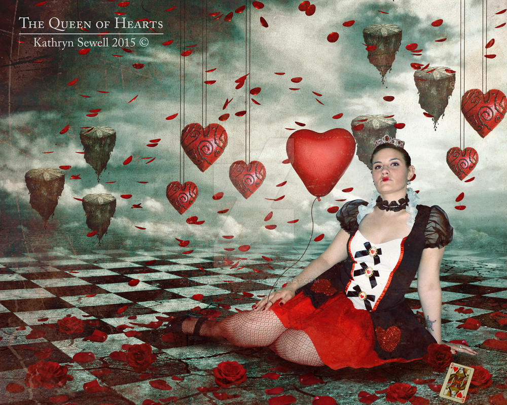 The Queen of Hearts by KSewellDesigns