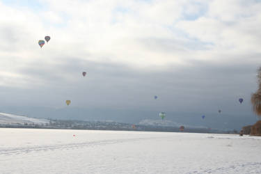 Winter Carnival Balloons Stock 2 by SimplyBackgrounds