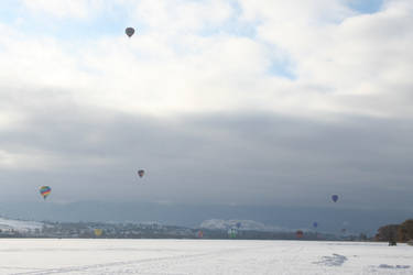 Winter Carnival Balloons Stock 4 by SimplyBackgrounds