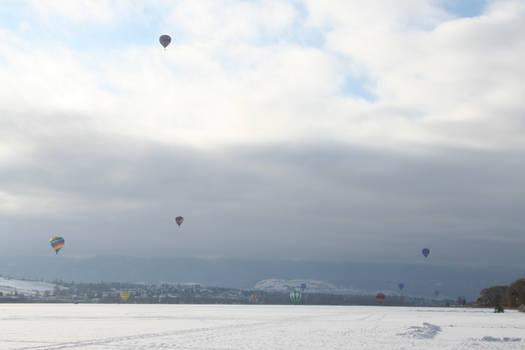 Winter Carnival Balloons Stock 4