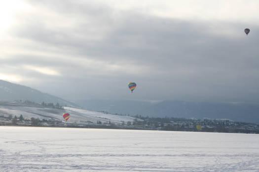 Winter Carnival Balloons Stock 5