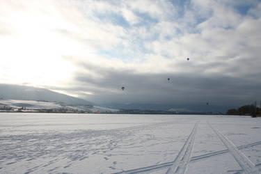 Winter Carnival Balloons Stock 6
