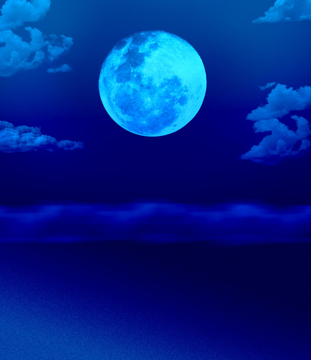 blue moon by simplybackgrounds on deviantart