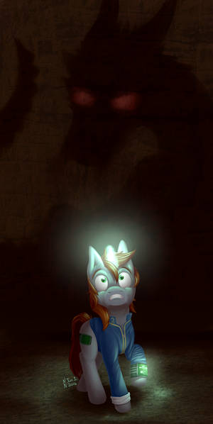 Littlepip and the Dragon