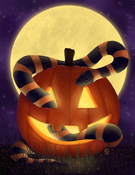 The Great Pumpkin Snake