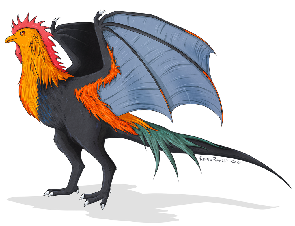 Rooster dragon