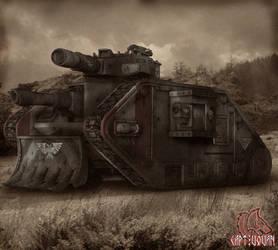 Leman Russ by CaptVovan