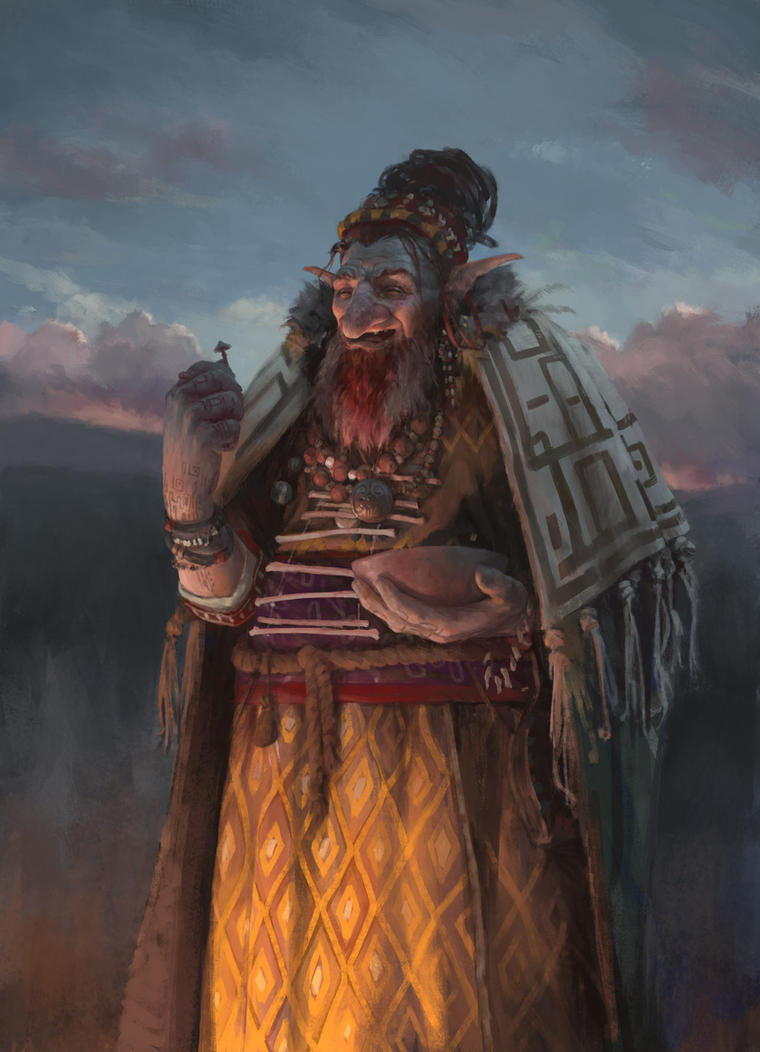 Shaman by dusint