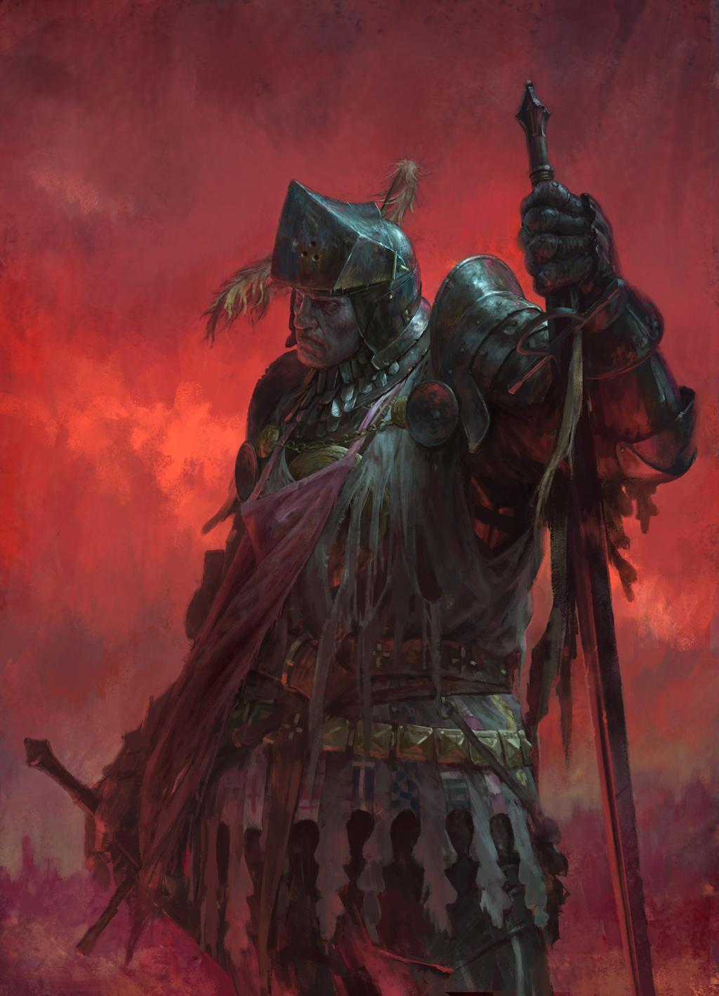 Ilustraciones sueltas chulas encontradas por el internete - Página 4 Death_knight_by_dusint-daei2yf