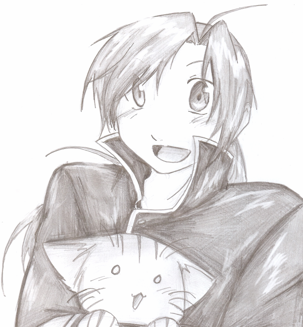 how to draw alphonse elric