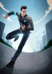 Connor on a mission by DianaCrimsonia