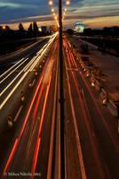 gazela bridge long exposure by rottensky