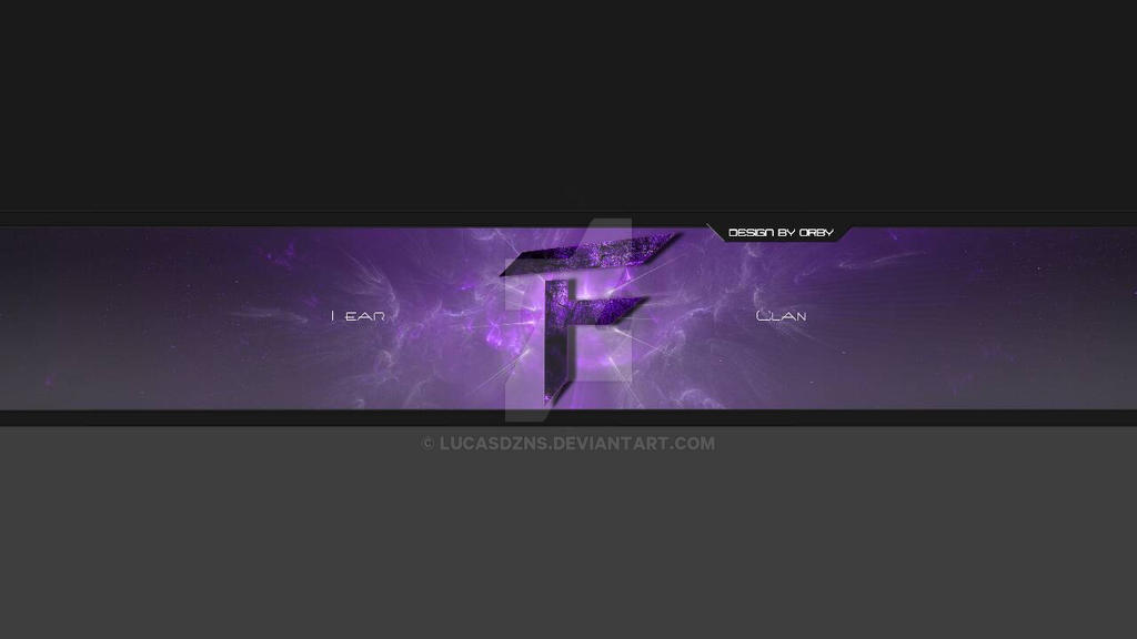 Youtube Banner For Fear Clan By Lucasdzns On Deviantart