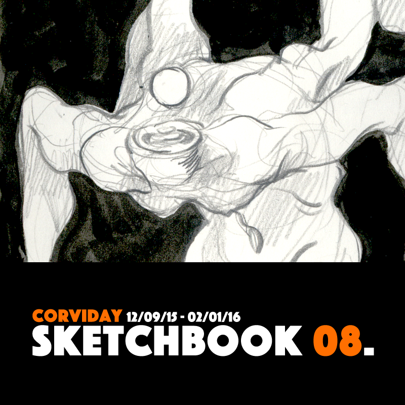 SKETCHBOOK 08 (PDF FOR SALE) by corviday