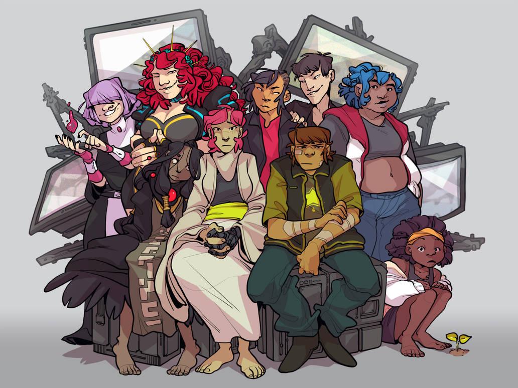 group shot by corviday