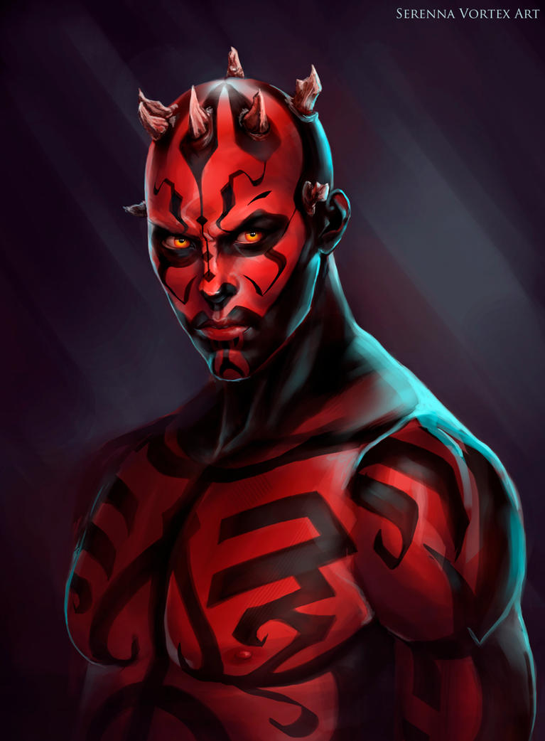 Darth Maul by SereNNa666