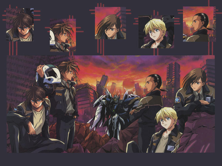 gundam wing wallpaper. Gundam Wing Wallpaper by ~Katsumadarkness on deviantART