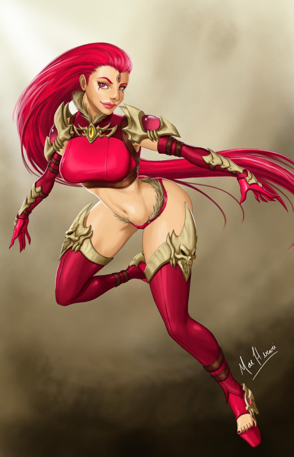 Chaos Queen Beleen by Mar-hirari