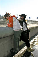 Lambo and Tsuna 2 by selfOblivion