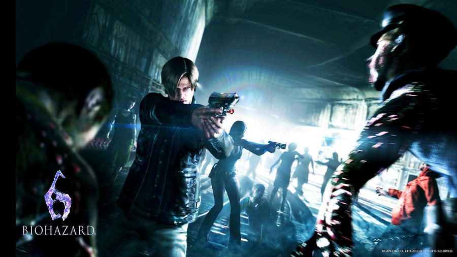 Resident Evil 6 Wallpaper By Thanhthao90