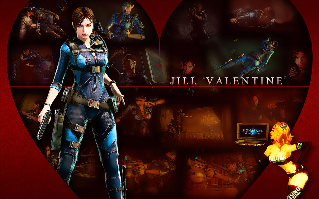 Jill Valentine - Biohazard Revelations by Thanhthao90