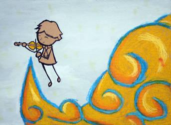 Violin Cloud by MajinTrunkz