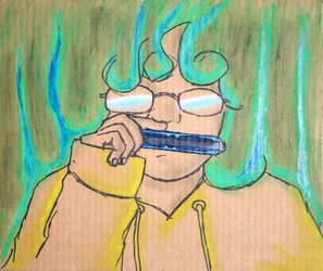 I Don't Really Play Harmonica by MajinTrunkz