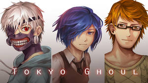 Tokyo Ghoul 1 by kitsu33