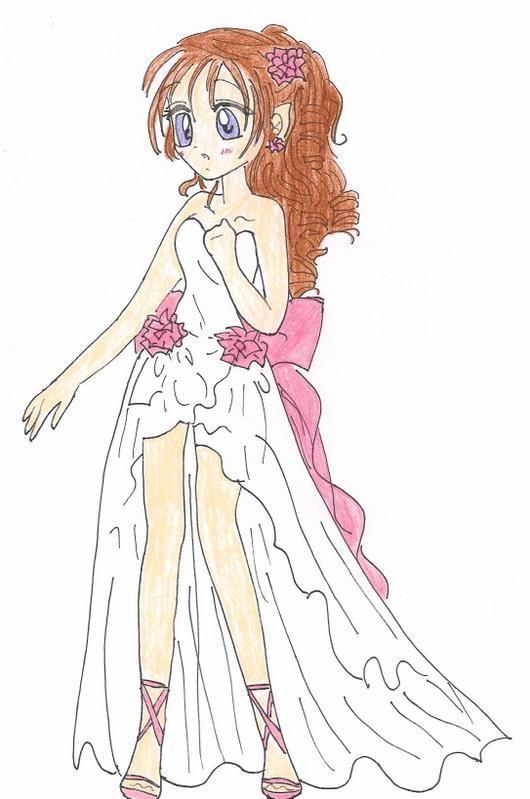Rose Dress by Lady-Lily