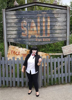Billy Puppet - SAW The Ride