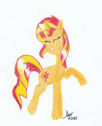 Sunset Shimmer by Dream-Trix