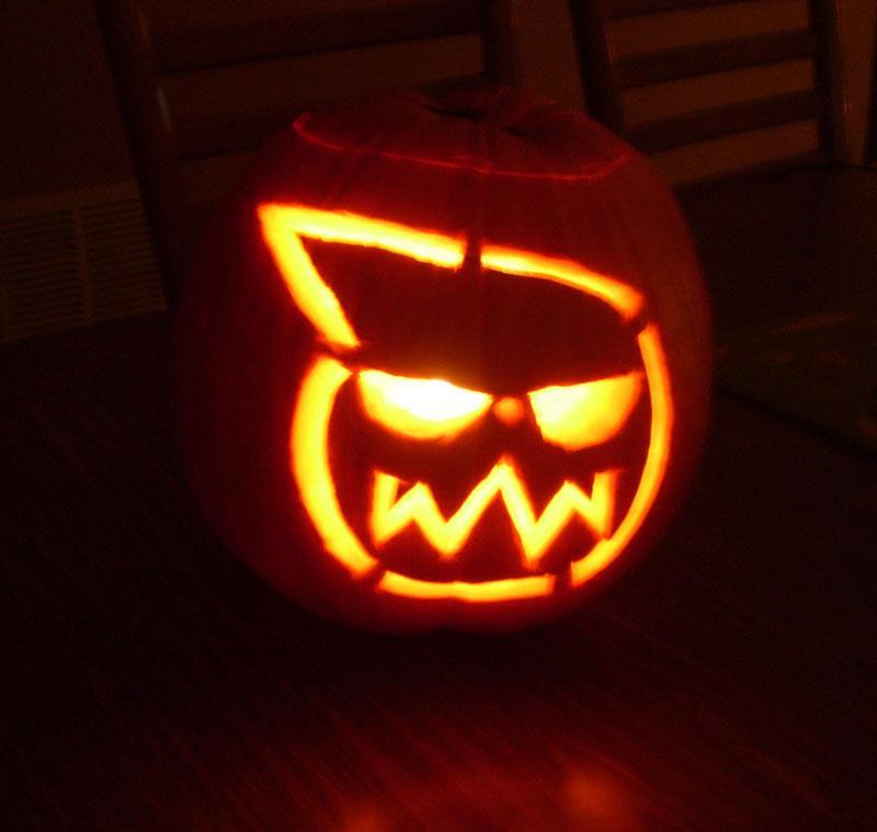 Soul eater pumpkin carving halloween by tachiban