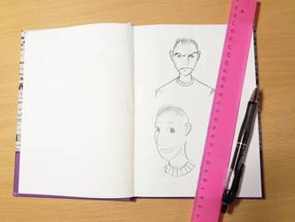 Baldi Sketch by Kyo-Hisagi