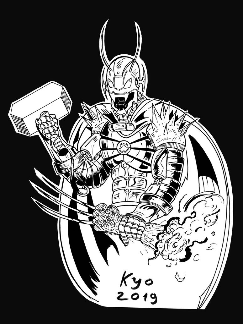 Ultron-Annihilus MashUp by Kyo-Hisagi