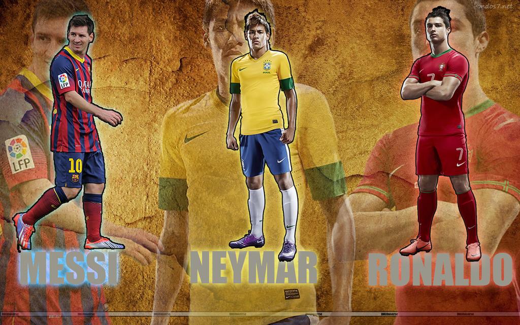 Messi vs Neymar vs Ronaldo by