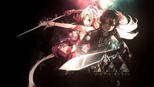 Sword Art Online Wallpaper #2 by dani17k