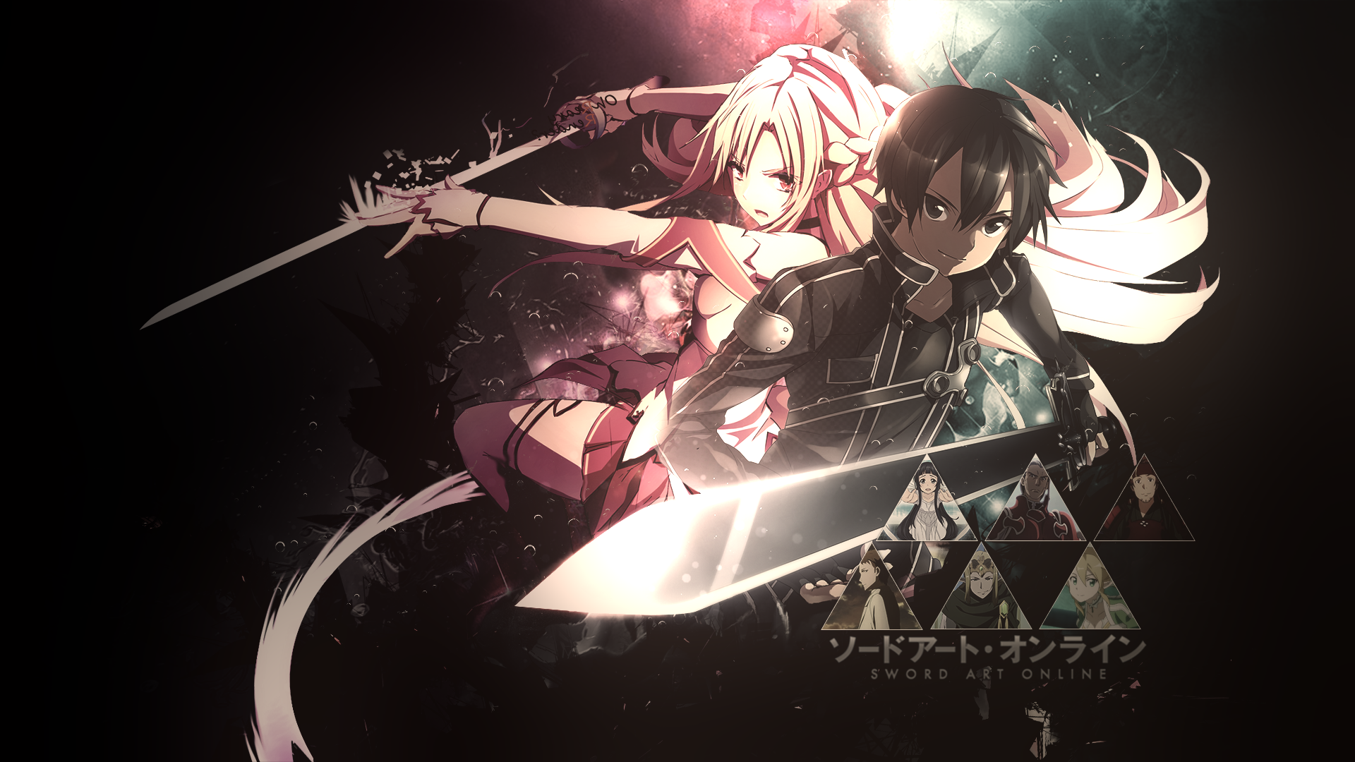 Sword Art Online Background: Sword Art Online Wallpaper #2 By Dani17k On DeviantArt