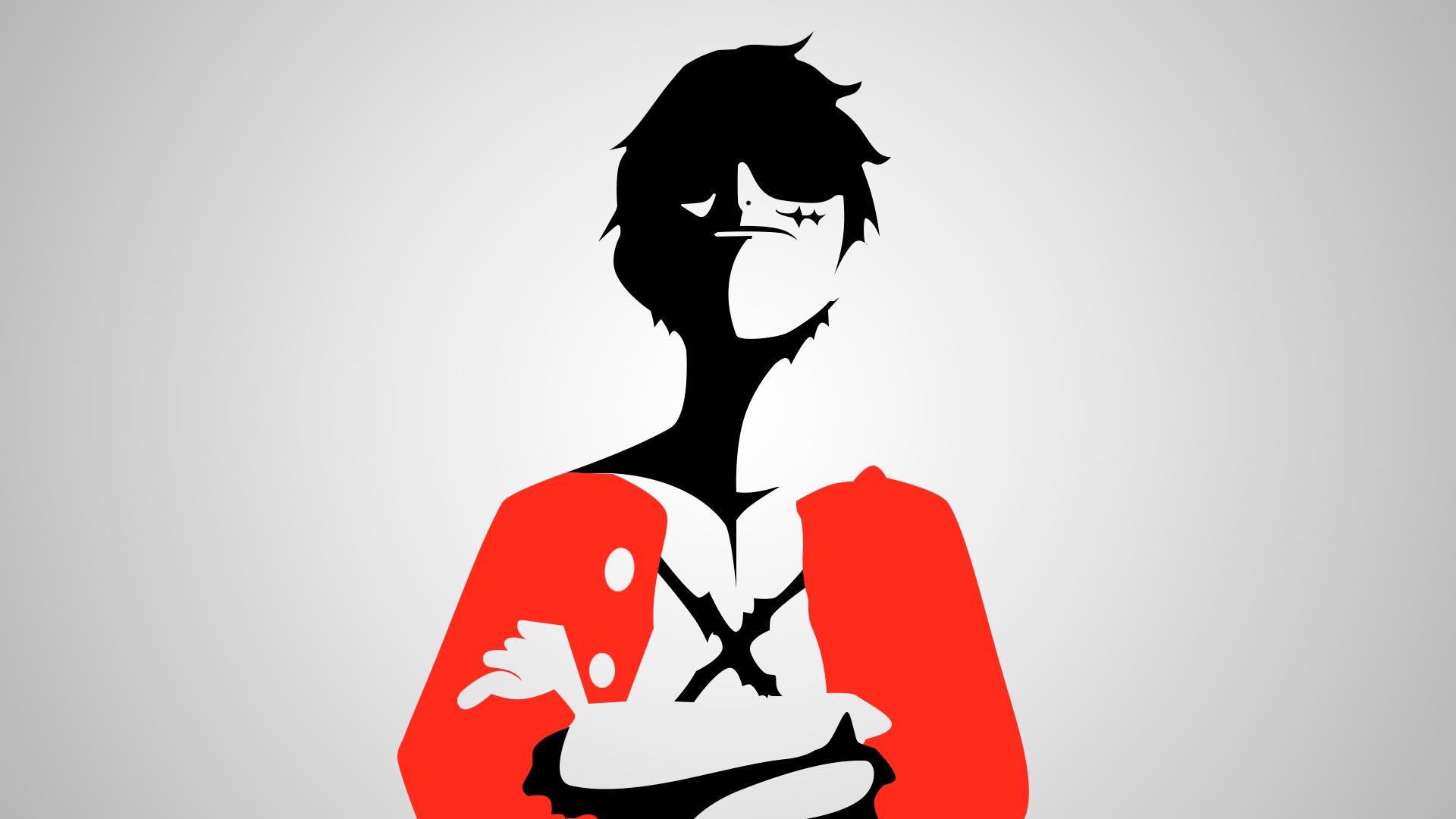 Luffy minimal by dani17k