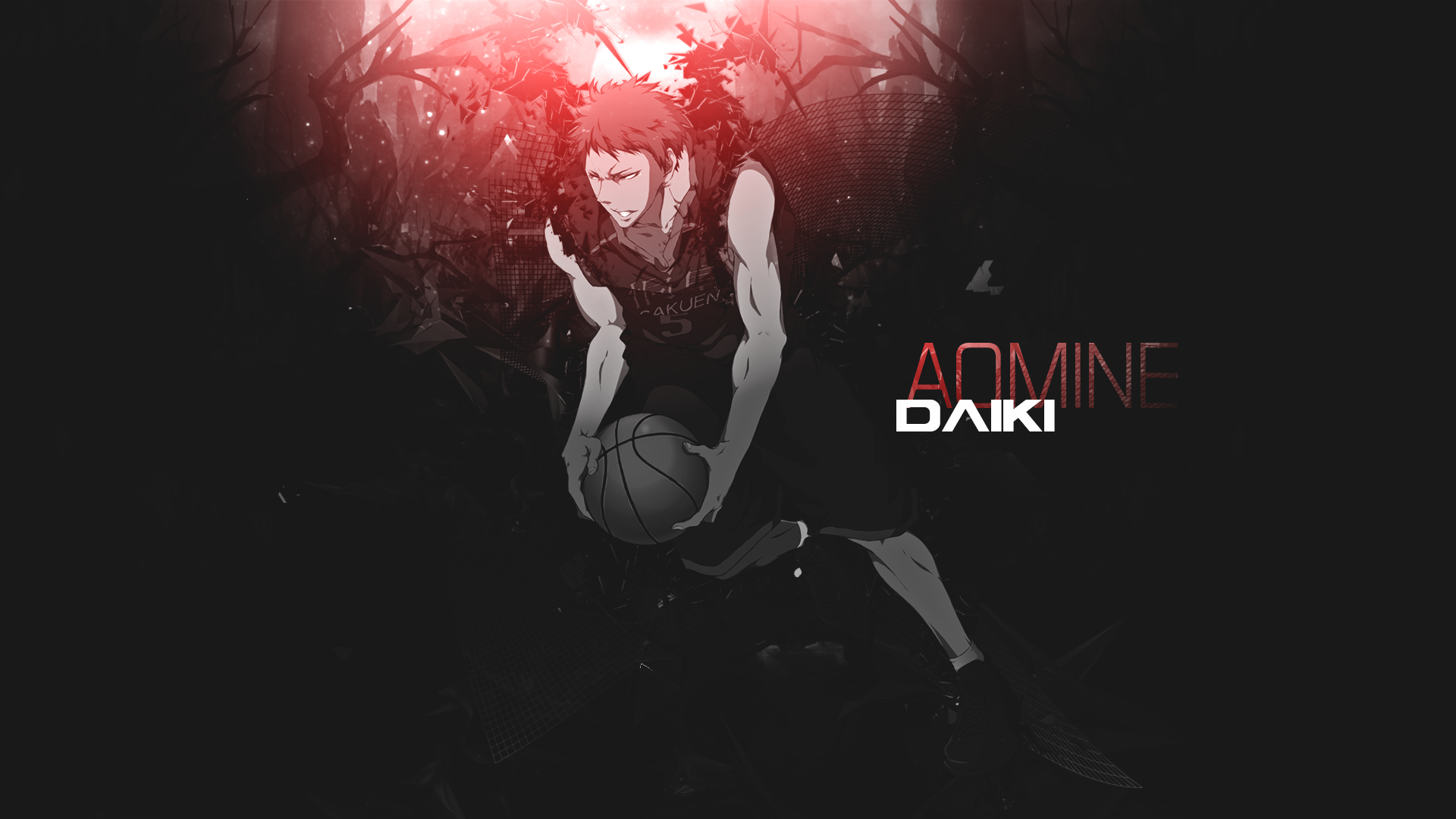 Daiki Aomine Wallpaper - Kuroko no basket by dani17k on DeviantArt