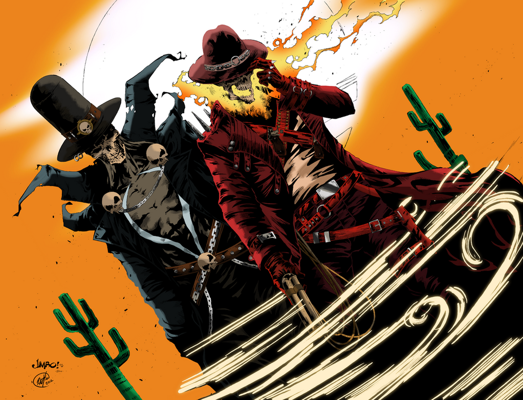 Gunslinger Spawn and Western Ghost Rider by AudreyGally on ...