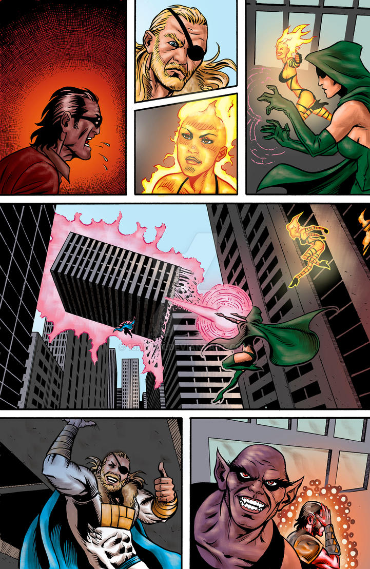Freelancers #3 page by 13aivan