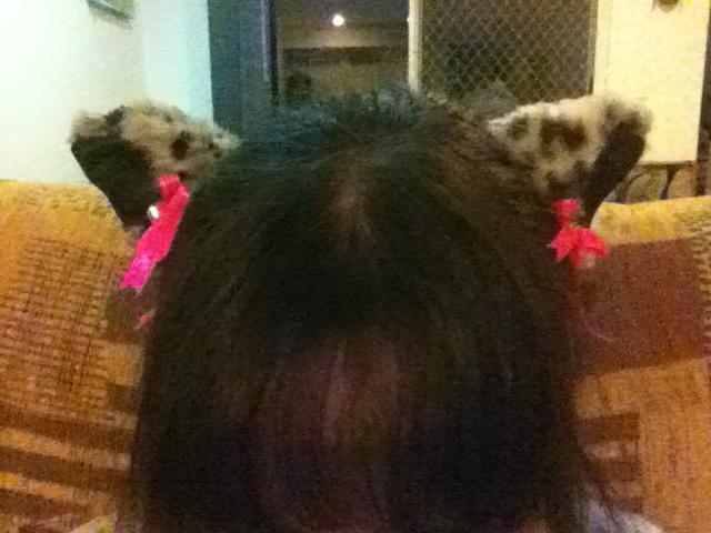 Mini Leopard Cat Ears (with bows and bells) by Wolfie-Miyaku