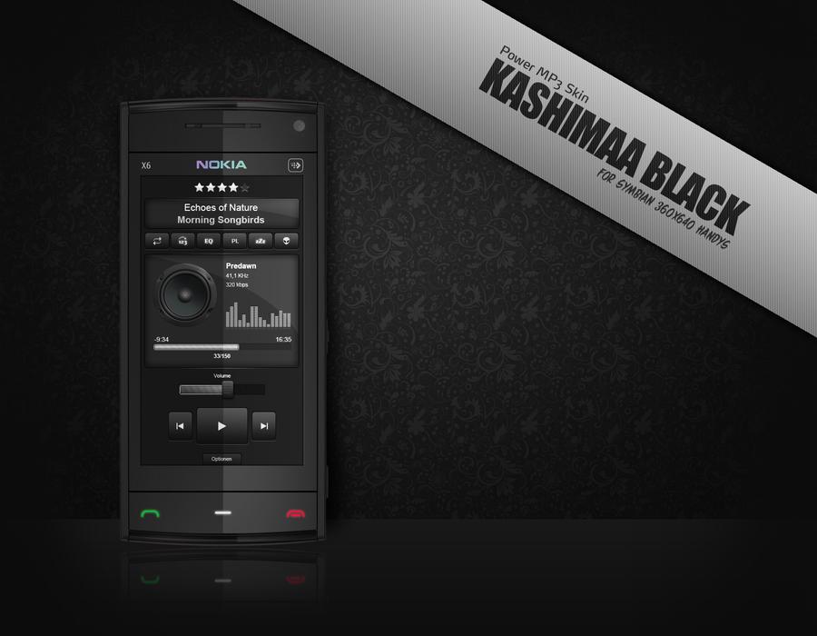 Kashimaa Black Power MP3 Skin by Blackfly78