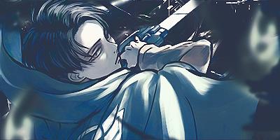 Shingeki no Kyojin/Attack on titan Levi Signature by Raykorn