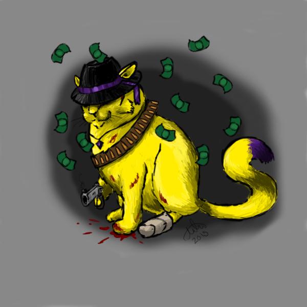 Mafia Cat by Awti