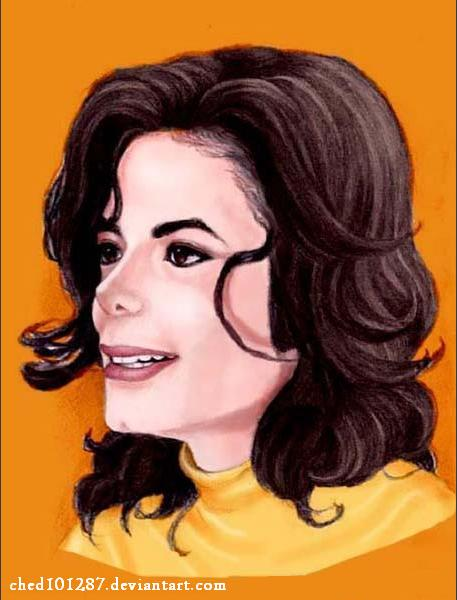 MJ Remember The Time Painting by ched101287