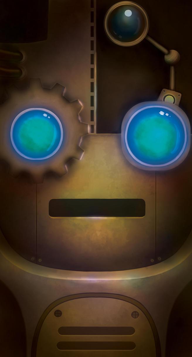 Steampunk Cellphone case by MJG910