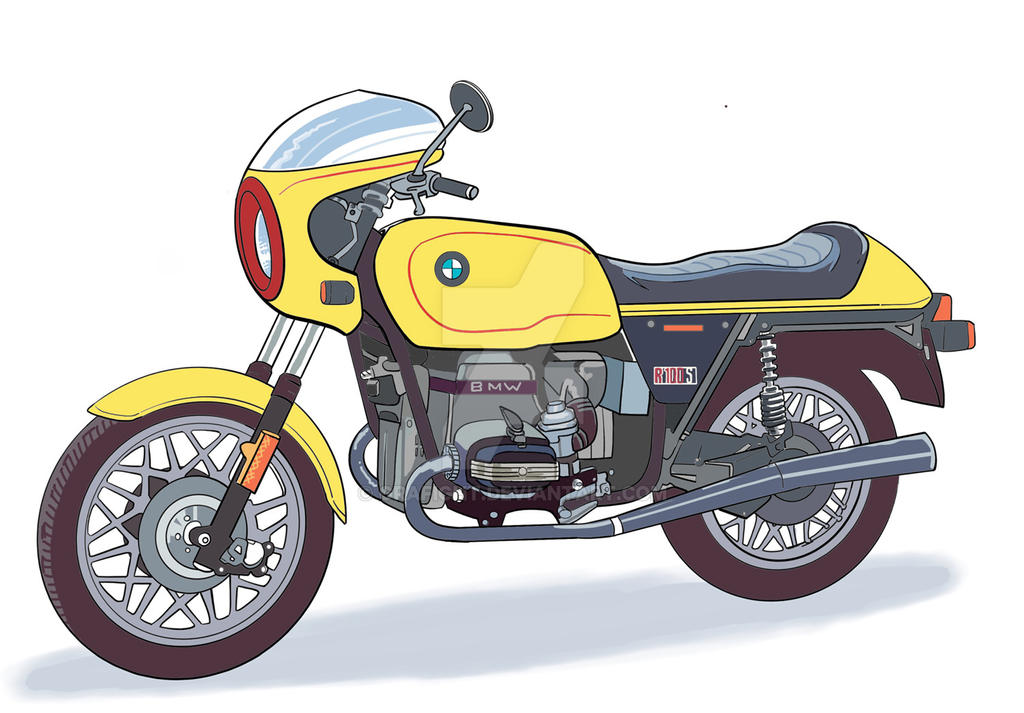 Bmw Rs100s by Grafight
