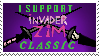 Invader Zim Classic Stamp by Dibsthe1
