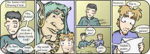 Manga-style art has drawbacks.
